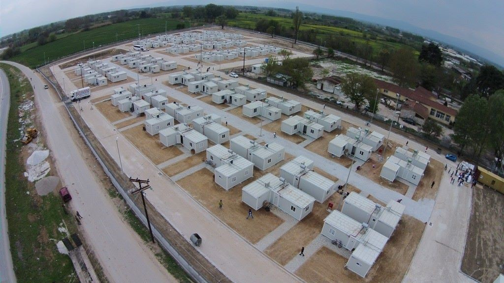 Refugee Accommodation Centre, Serres